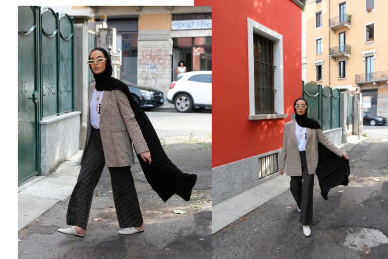 Leena Alghouti: «La fashion week sono gli abiti e il lavoro degli stilisti, non gli effetti collaterali come noi»