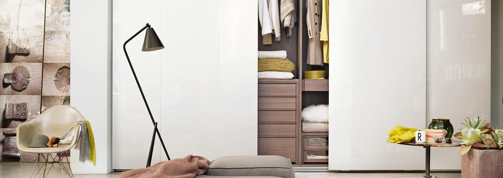 Armadio A Muro Design armadio a muro: 10 idee adatte a ogni spazio