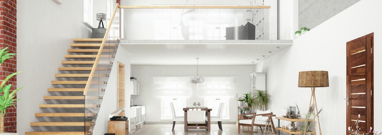 Loft Room with Mezzanine