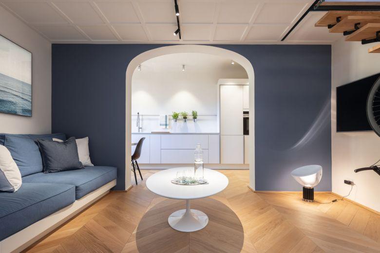 Firenze: funzionalità e design in un appartamento di appena 50mq