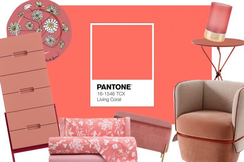 Living Coral: il design ispirato al colore PANTONE® del 2019