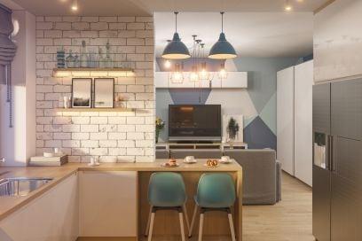 8 idee salvaspazio per cucine piccole