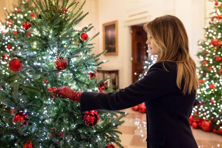 Le decorazioni di Natale della Casa Bianca per il 2018
