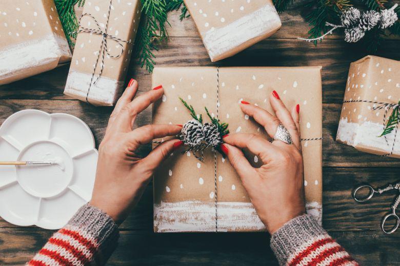 Pacchetti di Natale: 10 idee originali da copiare subito