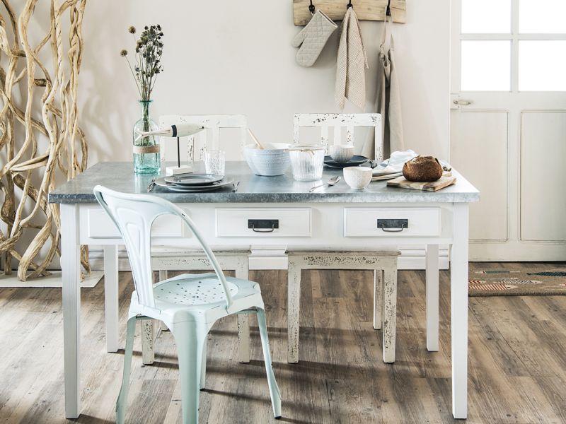 Come arredare la sala da pranzo in stile shabby chic
