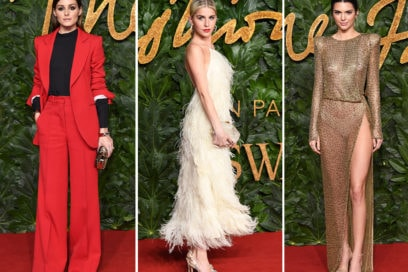 British Fashion Awards 2018: il red carpet dell'evento