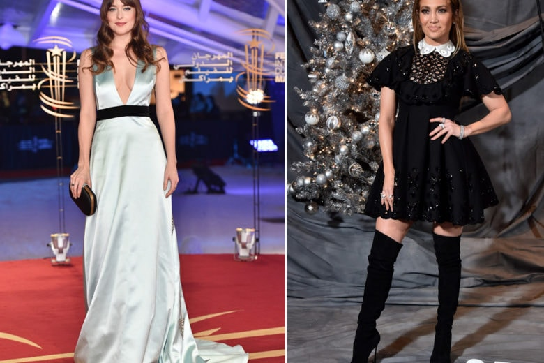 Jennifer Lopez, Dakota Johnson e le altre star meglio vestite della settimana