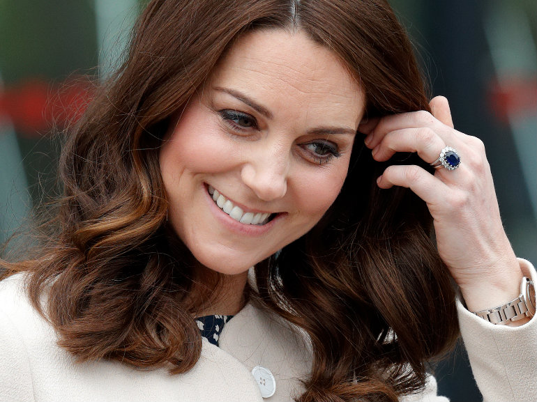 kate middleton anello