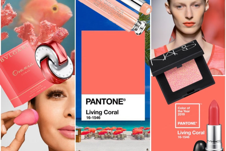 Pantone Living Coral: il colore dell'anno 2019 e i prodotti di bellezza e make up must have