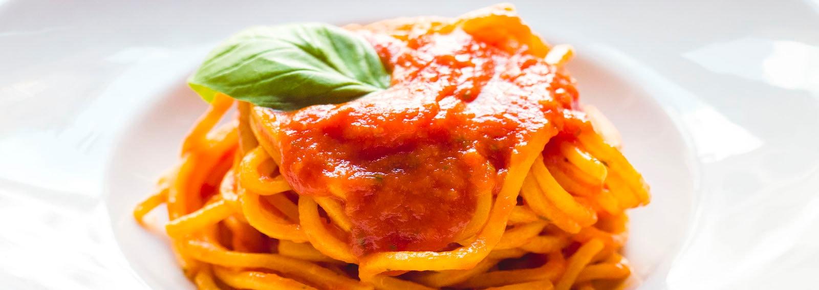 pasta al pomodoro marchese roma