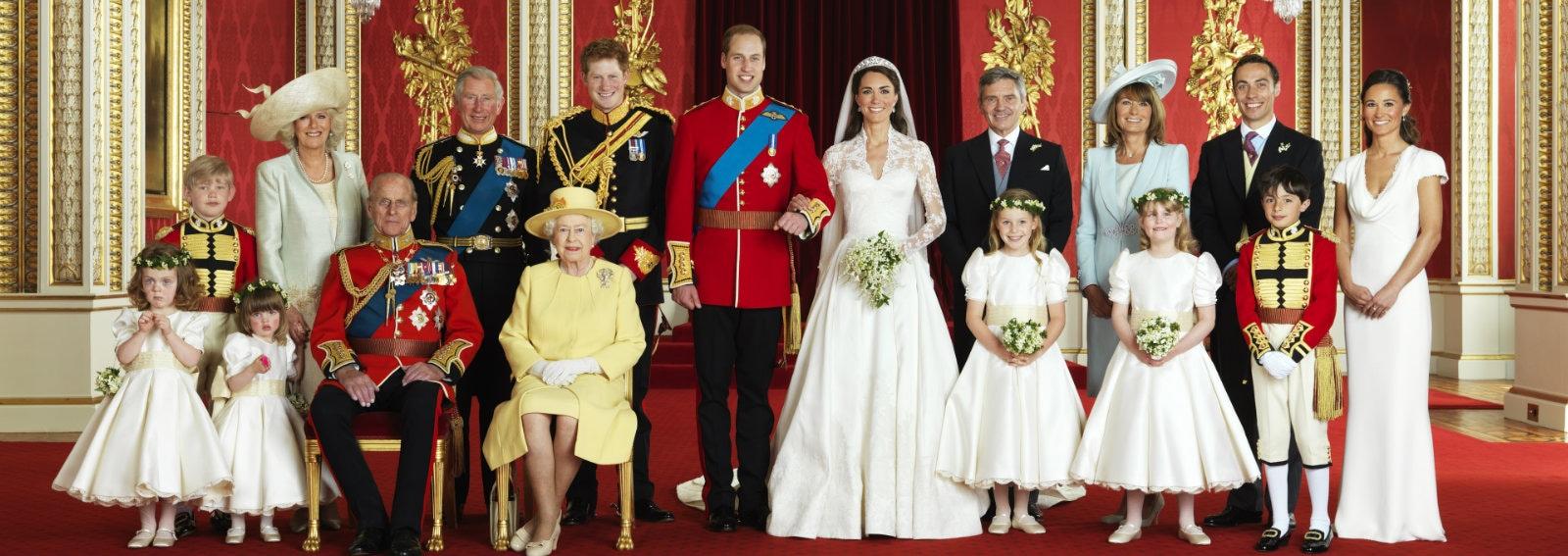 royal family william e kate matrimonio