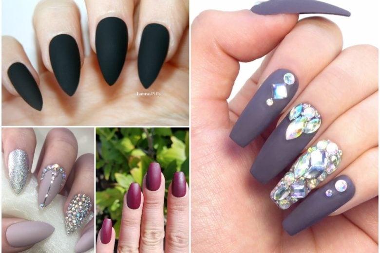 Velvet Nails: provate le unghie opache per una nail art matt a tutto glam
