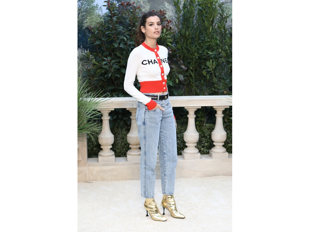 Alma Jodorowsky da Chanel getty+