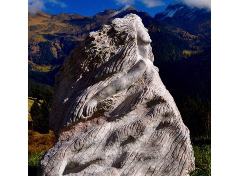 Angelo Fierro sculture nella roccia museo open air Morbegno Val Masino Sondrio Arte scultura MOBILE