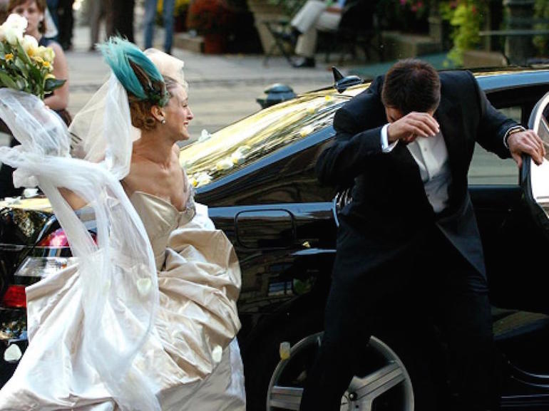 Carrie Bradshaw matrimonio