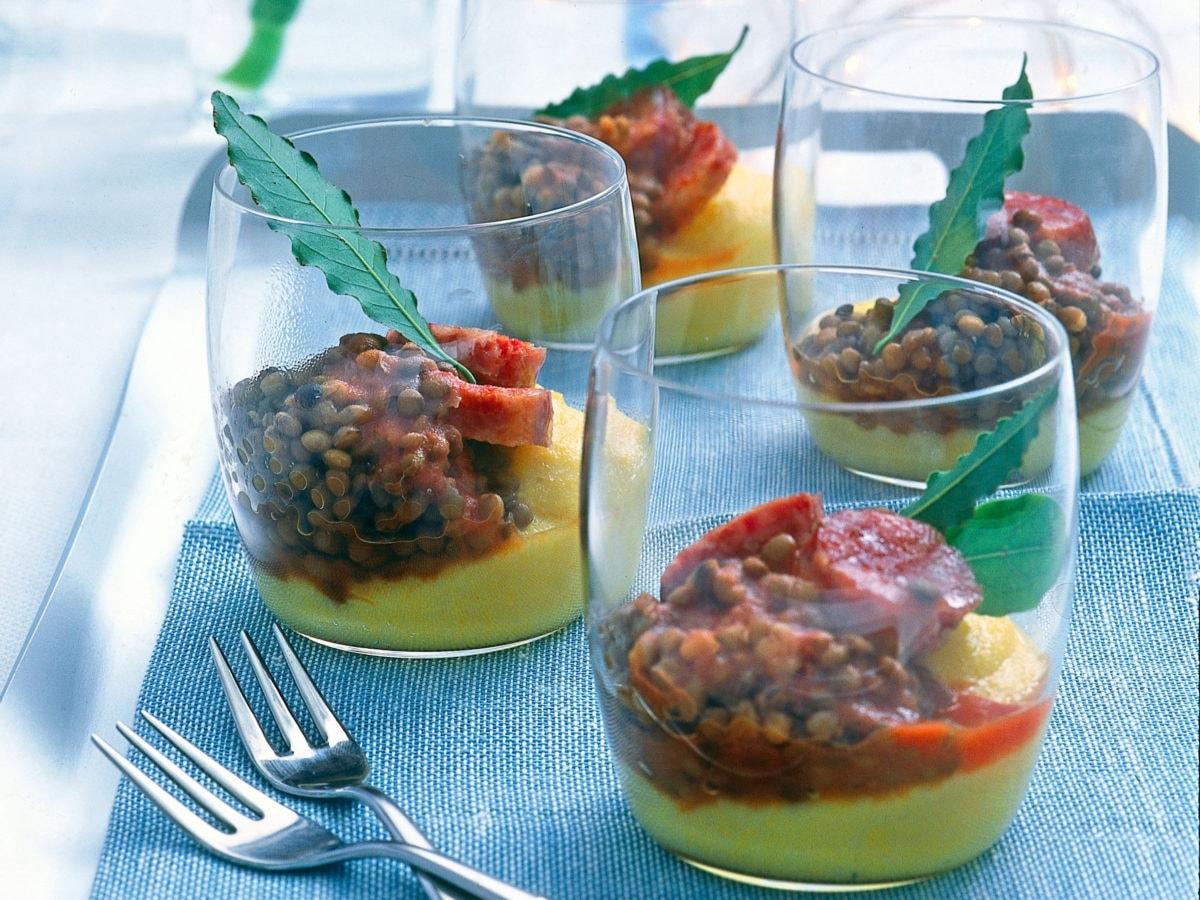 Cotechino con polenta e lenticchie(1)
