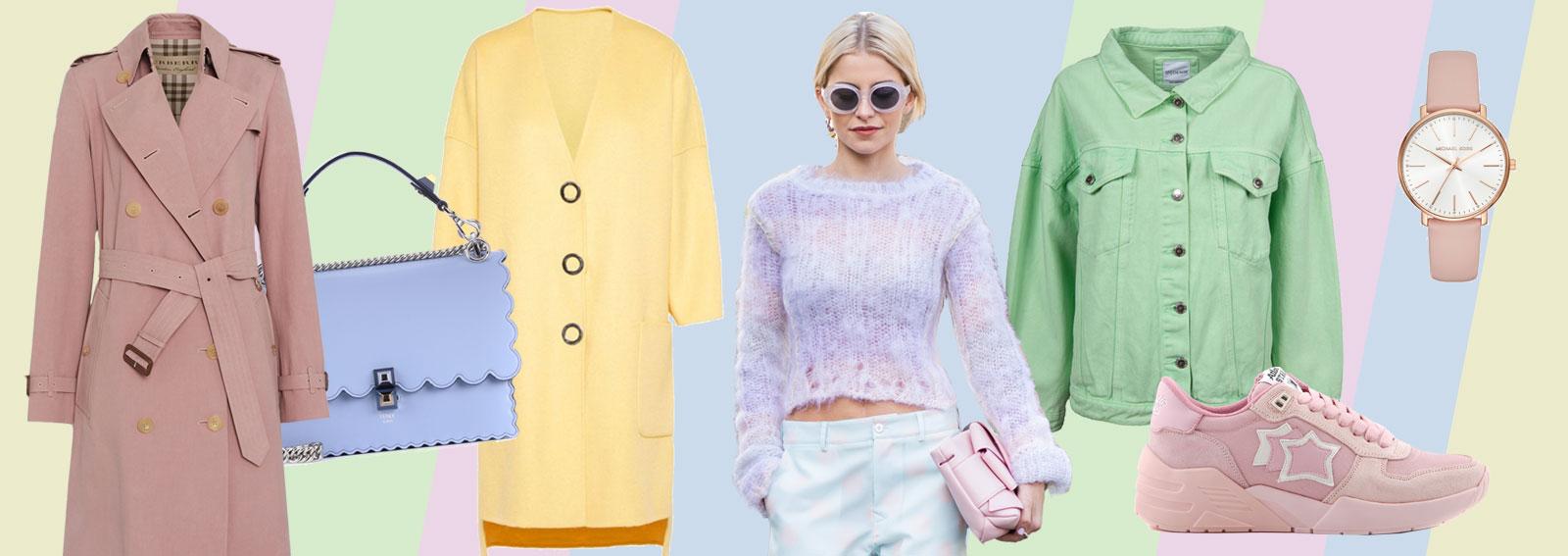 new style 977bc dc9ad Abbigliamento color pastello: vestiti e accessori per la ...