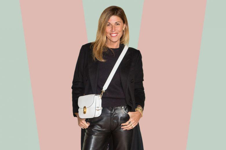 I pantaloni di pelle? Abbinateli come Alessandra Grillo e sarete favolose