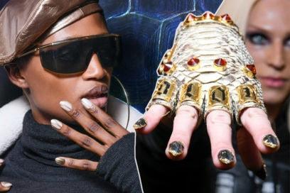 La tortoiseshell nail art è il trend unghie del 2019
