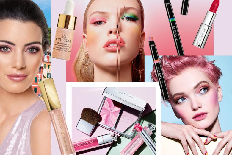 Collezioni make up Primavera 2019: il trucco pastello che illumina il viso