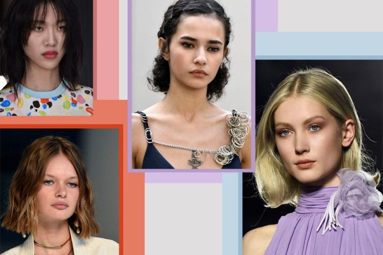 Gli hairlook per capelli medi da copiare ora dalle passerelle Primavera Estate 2019