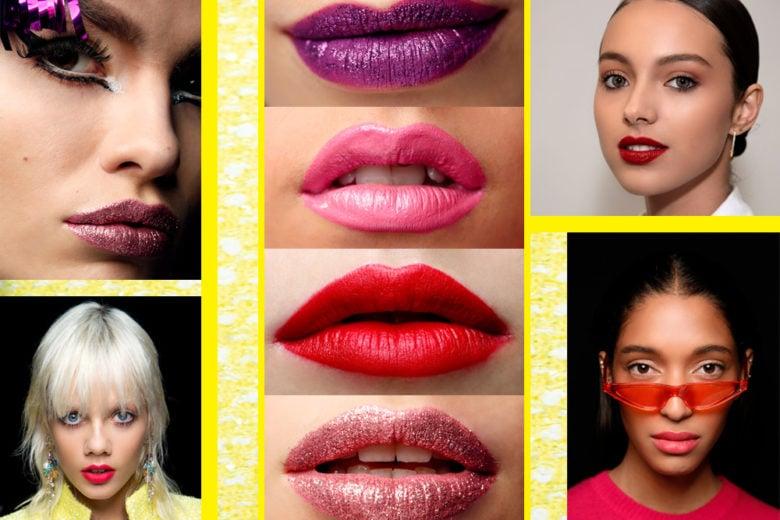 Labbra bold Primavera Estate 2019: i colori di rossetto intenso da provare