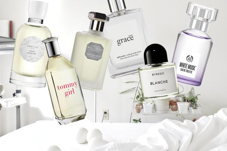 Profumi che sanno di pulito: cotone, lino, talco, muschio, crema e sapone
