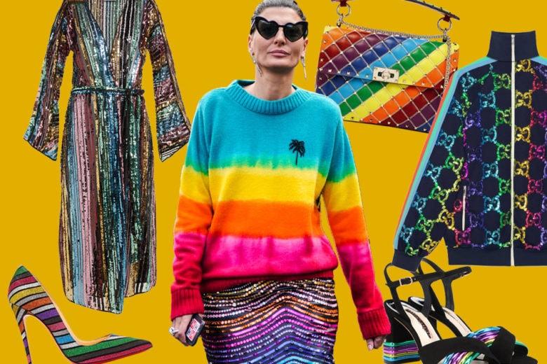 """Altro che """"Blue Monday"""", la moda """"Rainbow"""" vi metterà di buonumore!"""