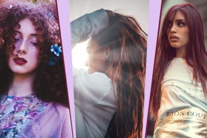 Rose brown hair: i capelli castani si tingono di rosa