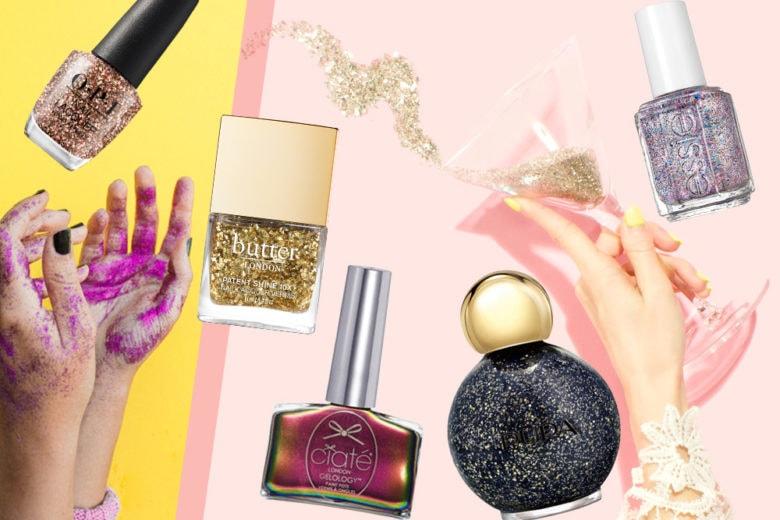 Saturday nail fever: ecco gli smalti glitter del sabato sera