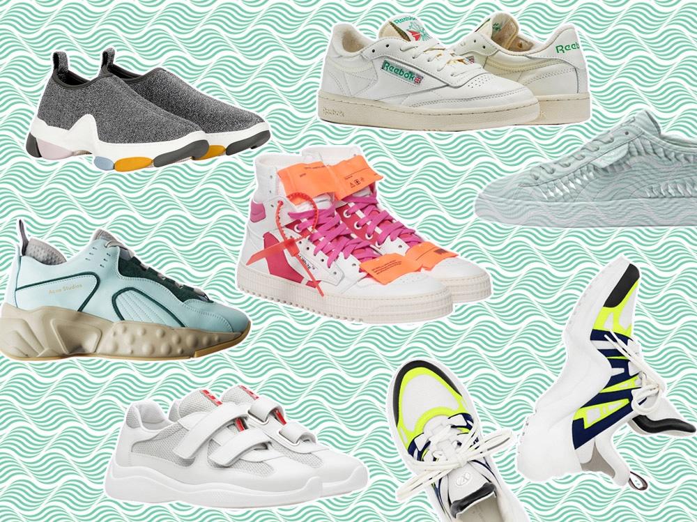 Sneakers mania. I 5 modelli must have di questa primavera