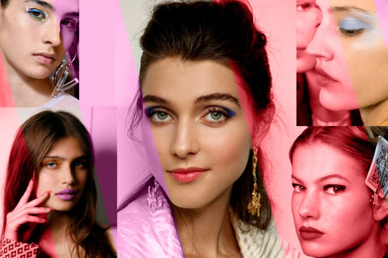 Trucco colorato Primavera Estate 2019: il make up del momento è pop
