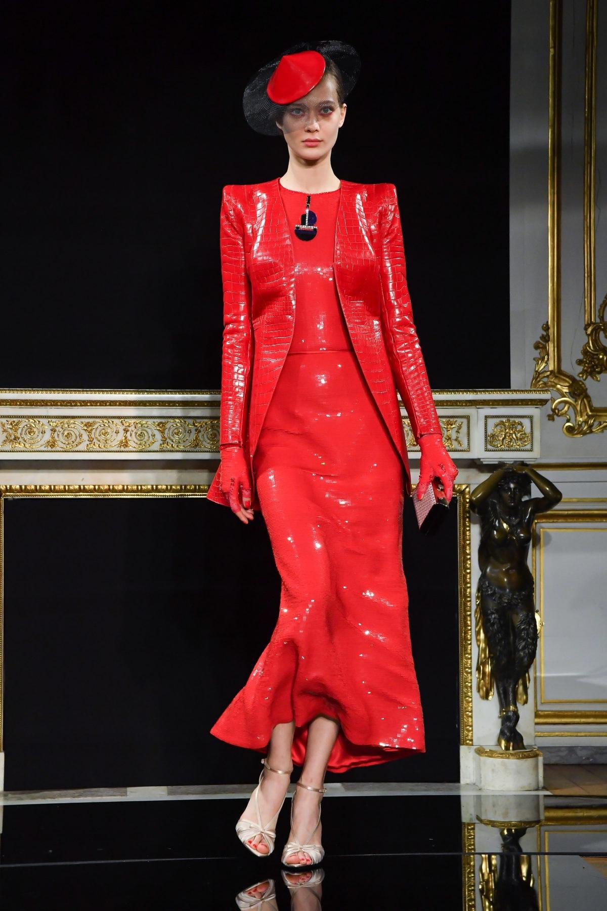 Giorgio Armani Prive : Runway – Paris Fashion Week -Haute Couture Spring/Summer 2019