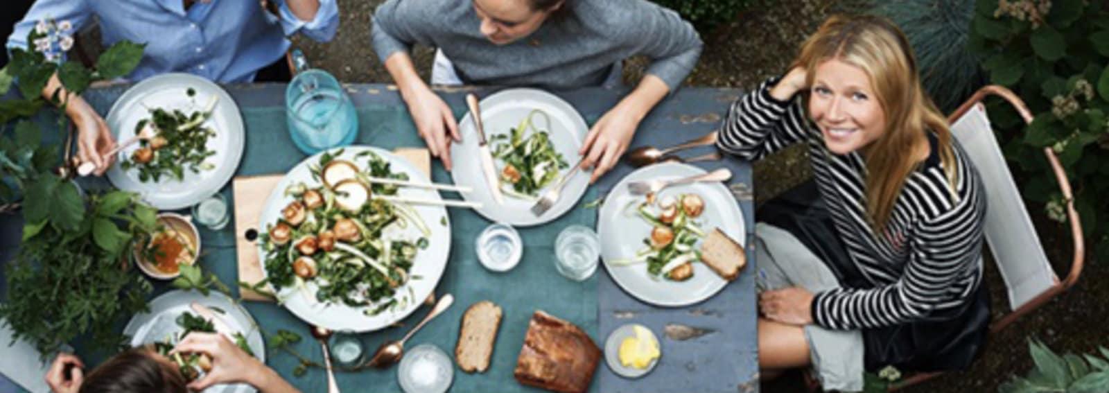 Gwyneth Paltrow libro ricette