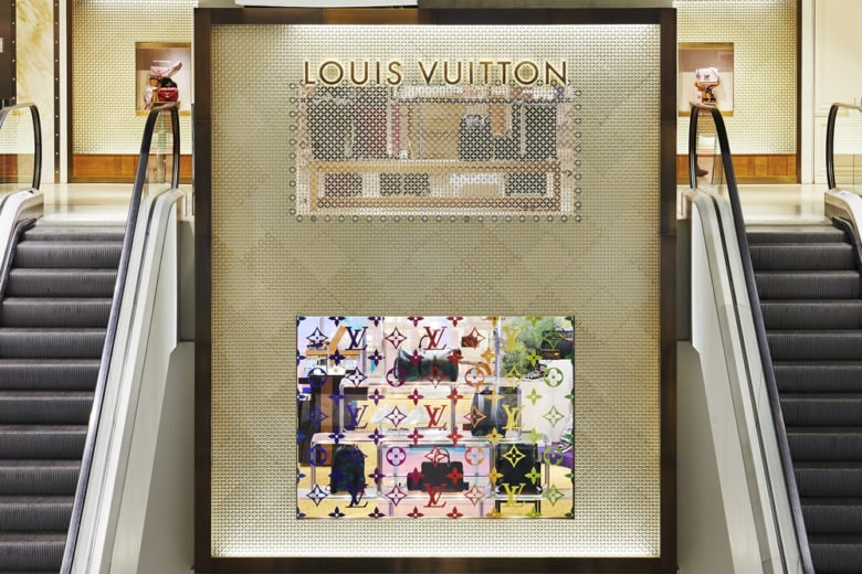 """Somewhere over the rainbow""… nel pop up di Louis Vuitton in Rinascente"