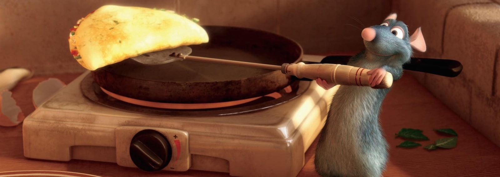Rataouille crepes