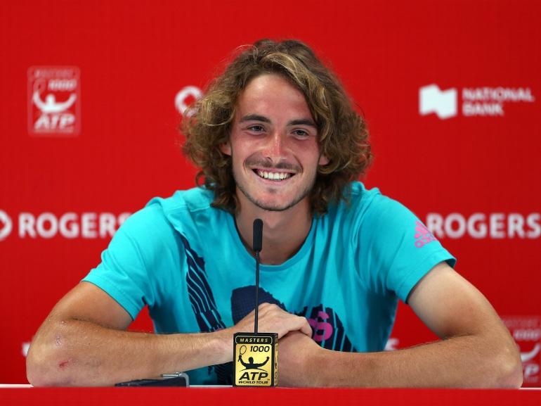 Stefanos Tsitsipas tennista greco vita privata curiosita nuovo campione emergente bello fisico scolpito (18)