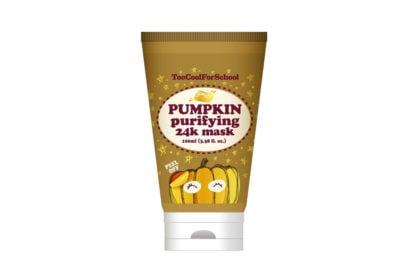 TooCoolForSchool_Pumpkin 24K Gold purifying peel off