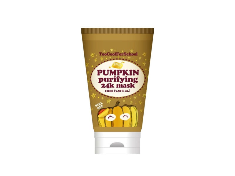 TooCoolForSchool_Pumpkin 24K Gold purifying peel off