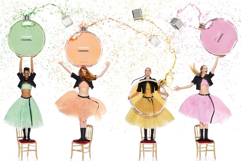 CHANCE EAU TENDRE debutta in Eau de Parfum con una campagna firmata da Jean-Paul Goude