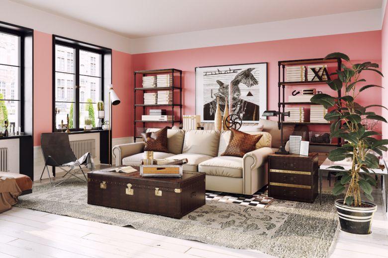 Pantone Living Coral: con quali colori abbinarlo nell'arredamento della casa