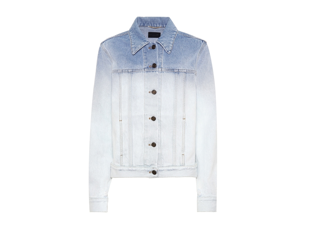 giacca-in-jeans-degradé-saint-laurent-mytheresa