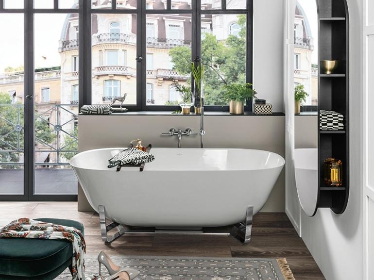 Vasca Da Bagno Villeroy Boch Prezzi : Vasche da bagno piccole: 7 soluzioni adatte a ogni spazio
