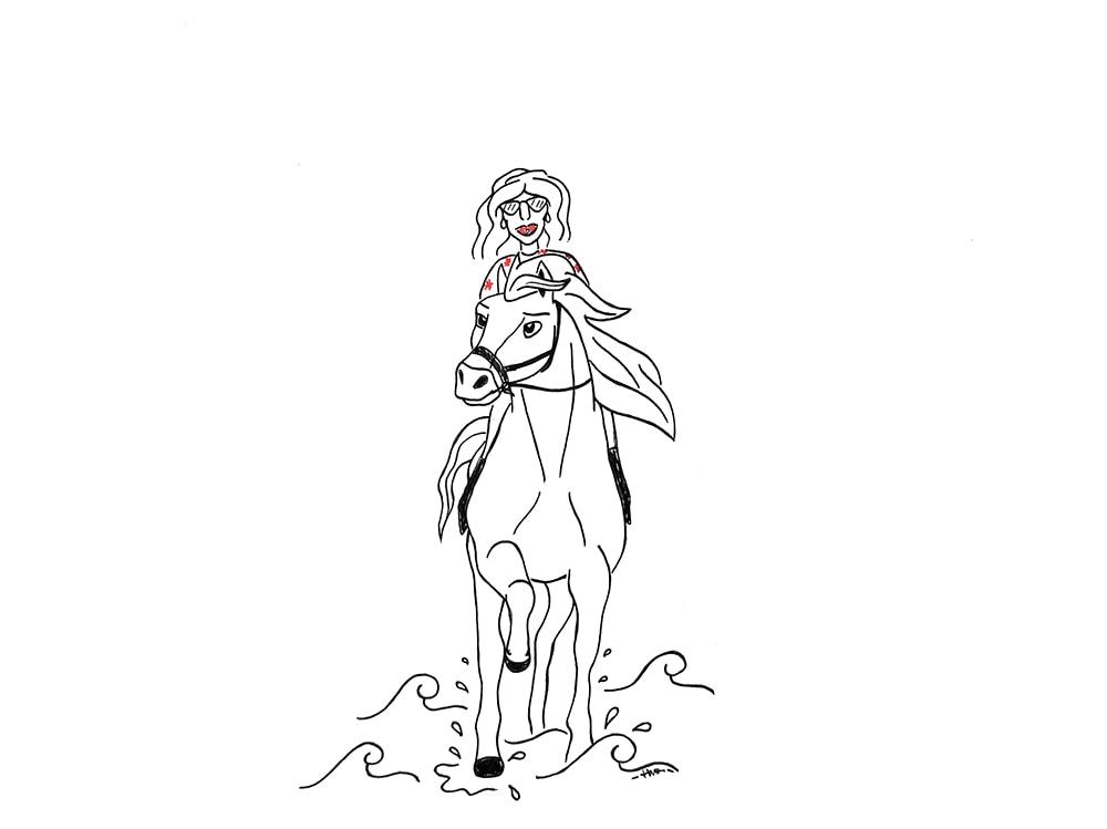 Spirit, cavallo selvaggio…e non è il cartone animato della DreamWorks