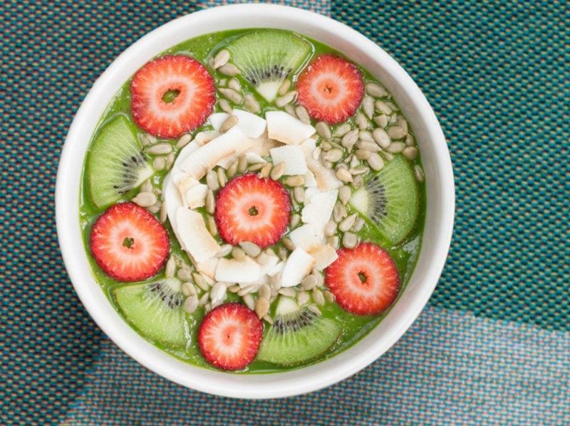 kiwi bowl fragole