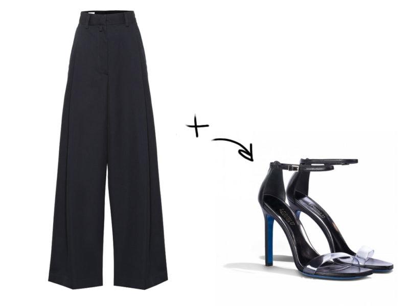 032f978903 Le scarpe per i pantaloni larghi: gli abbinamenti della Primavera