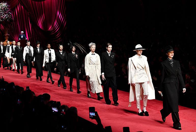 Dolce & Gabbana autunno-inverno 2019/2020: eleganti si nasce!
