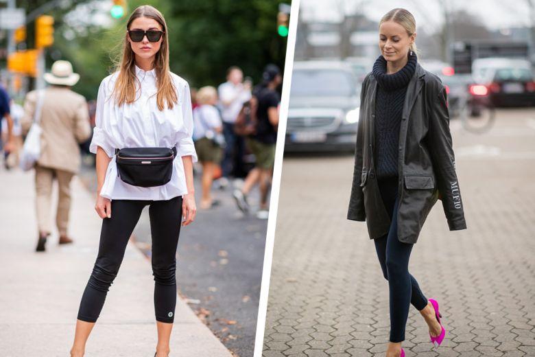Come indossare leggings: 5 look mix&match da copiare subito!