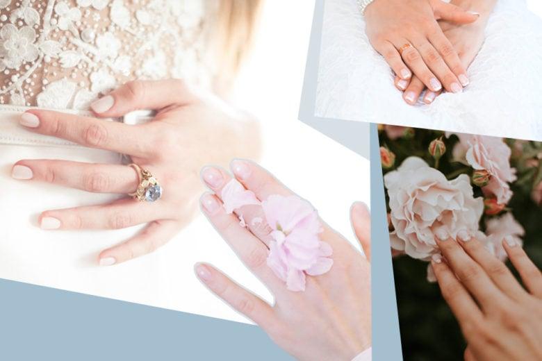 Unghie da sposa: le manicure più eleganti per il giorno del sì
