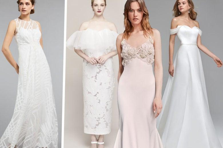 Come scegliere l'abito da sposa in base alla forma del corpo